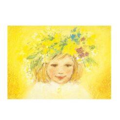 Ansichtkaart Bloemenkrans (Marjan van Zeyl)