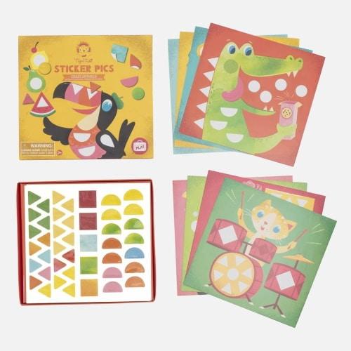 Stickerboek - kleuren en vormen