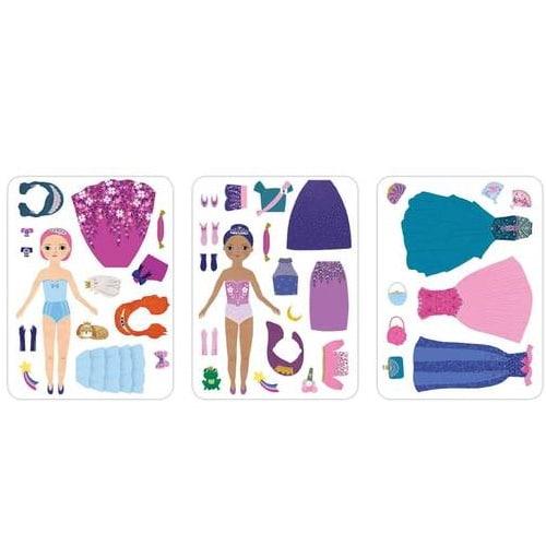 Magnetische aankleedpoppen - prinsessen