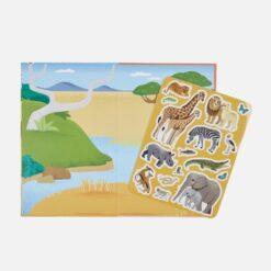 Stickerboek - Safari