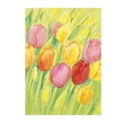Ansichtkaart Tulpen (Marjan van Zeyl)
