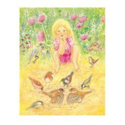 Ansichtkaart Wat een mooie vogeltjes (Marjan van Zeyl)