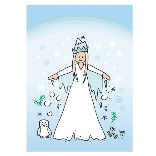 Ansichtkaart Winterprinses
