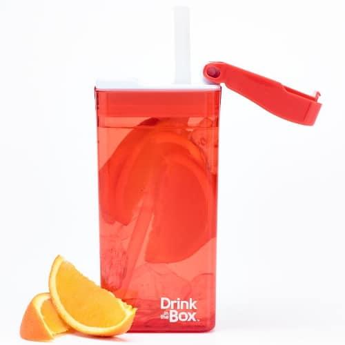 Drink in the Box Large- oranje