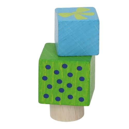 Ahrens steker cadeautjes (blauw/groen)