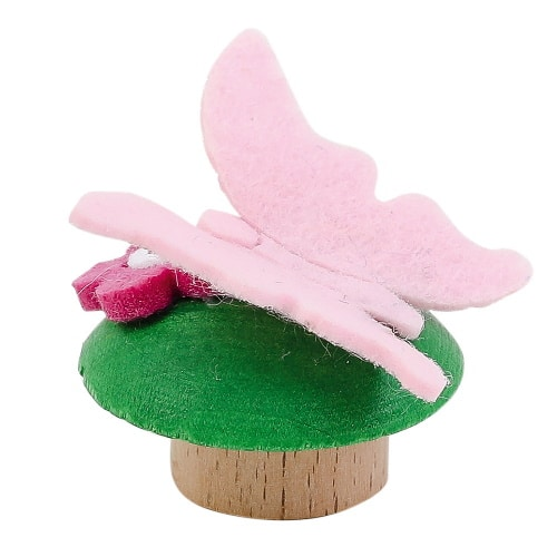 Ahrens steker vlinder (roze)