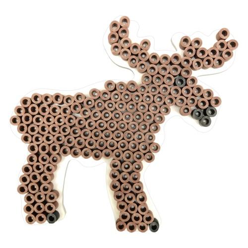 Nabbi Eco Strijkkralenplank (bosdieren)