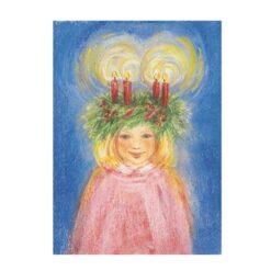 Ansichtkaart Lucia's Lichtkroon